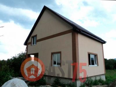 Дом 8 x 8 (простая крыша) площадью 128 м2 + проект