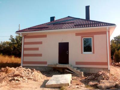 Дом 9 x 10 (свайный фундамент) площадью 90 м2 + проект