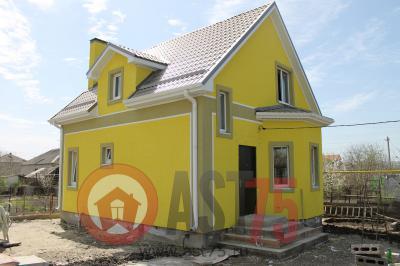 Дом 7 x 8 (с эркером) площадью 115 м2 + проект