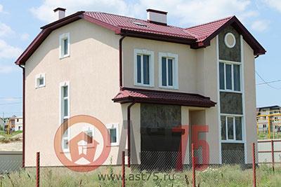 Дом 10 x 11 с гаражом площадью 220 м2 + проект