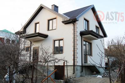 Дом 9.18 x 8 +  фронтон площадью 148 м2 + проект