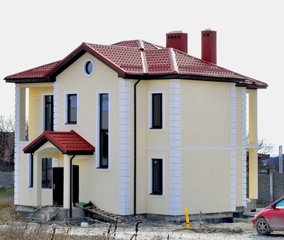 Дом 14 x 11.7 стены 470 мм площадью 264 м2 + проект