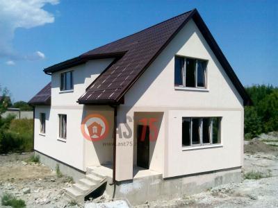 Дом 12.8 x 8 (высота подъема 0.6) площадью 206 м2 + проект