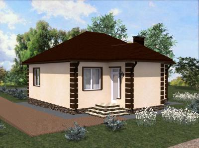 Дом 10#11.2 площадью 103 м2 + проект