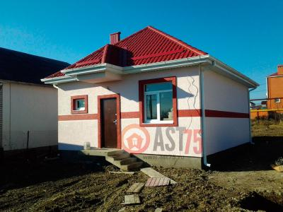 Дом 7 х 8 с козырьком  площадью 56 м2 + проект
