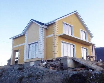Дом 13.02 x 9.82 площадью 263 м2 + проект