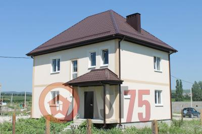 Дом 10.8 x 7.6 площадью 168 м2 + проект