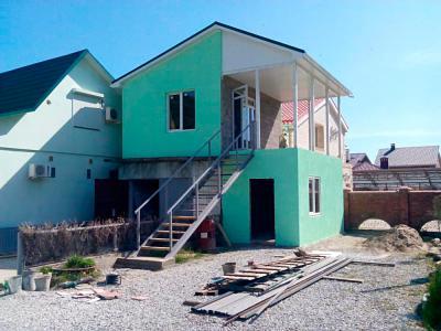 Дом 5 x 7 площадью 70 м2 + проект