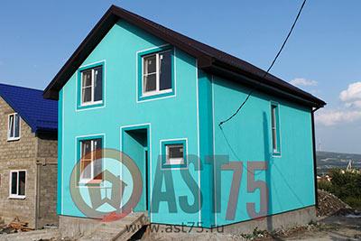 Дом 7 х 9 площадью 126 м2 + проект
