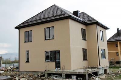 Дом  10 x 10 площадью 205 м2 + проект