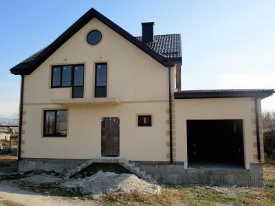 Дом 13.4 x 8 с гаражом площадью 181 м2 + проект