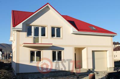 Дом 13.4 х 13 с гаражом площадью 280 м2 + проект