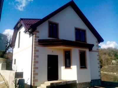 Дом 8 x 9.8 площадью 134 м2 + проект