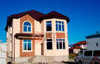 Дом 16.8 x 12.3 площадью 364 м2 + проект