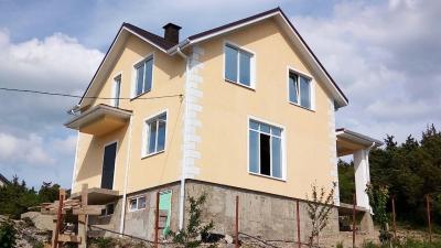 Дом 9.1 x 8 (с цокольном помещением) площадью 144 м2 + проект