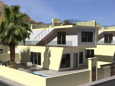 Дом в испанском стиле 10 х 7 м площадью 155 м2 + проект