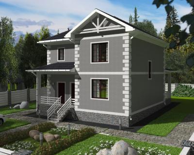 Дом 13 х 10 м площадью 219 м2 + проект