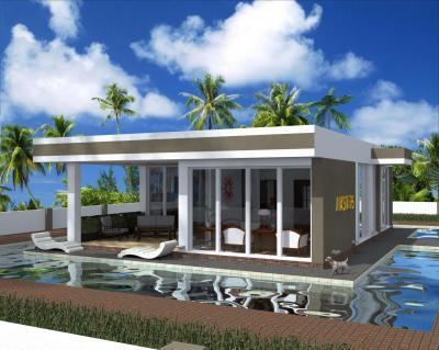 Дом в испанском стиле 12 х 9 м. площадью 108 м2 + проект