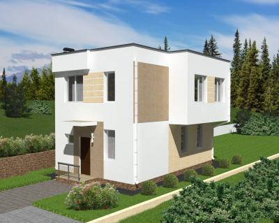 Дом 6 х 9 м площадью 122 м2 + проект