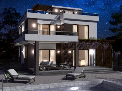 Дом 8.9 х 13.4 м площадью 263 м2 + проект