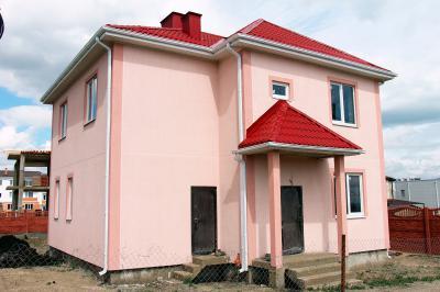 Дом 10 x 13 + балкон + 2 козырька площадью 260 м2 + проект