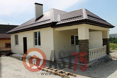 Дом 10 x 12 (с верандой) площадью 130 м2 + проект