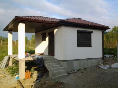 Дом 5.5 x 7 площадью 40 м2 + проект