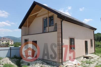 Дом 10  x 7.6 (на два входа, простая крыша) площадью 152 м2 + проект