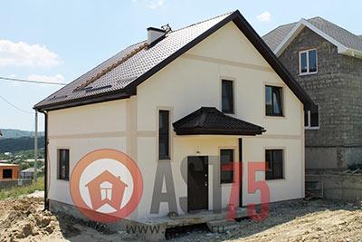 Дом 9.7 x 7.6 площадью 152 м2 + проект