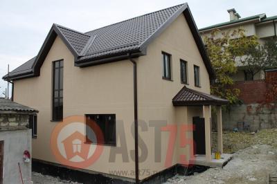Дом 11.4 х 9.3 об крыш  площадью 214 м2 + проект