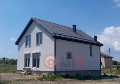 Дом 9 x 11.3 простая крыша площадью 206 м2 + проект